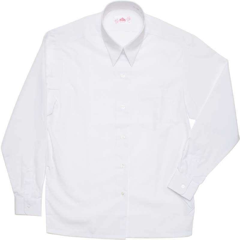 BE STELLA 角襟レギュラーシャツ(長袖) BS153 BS154