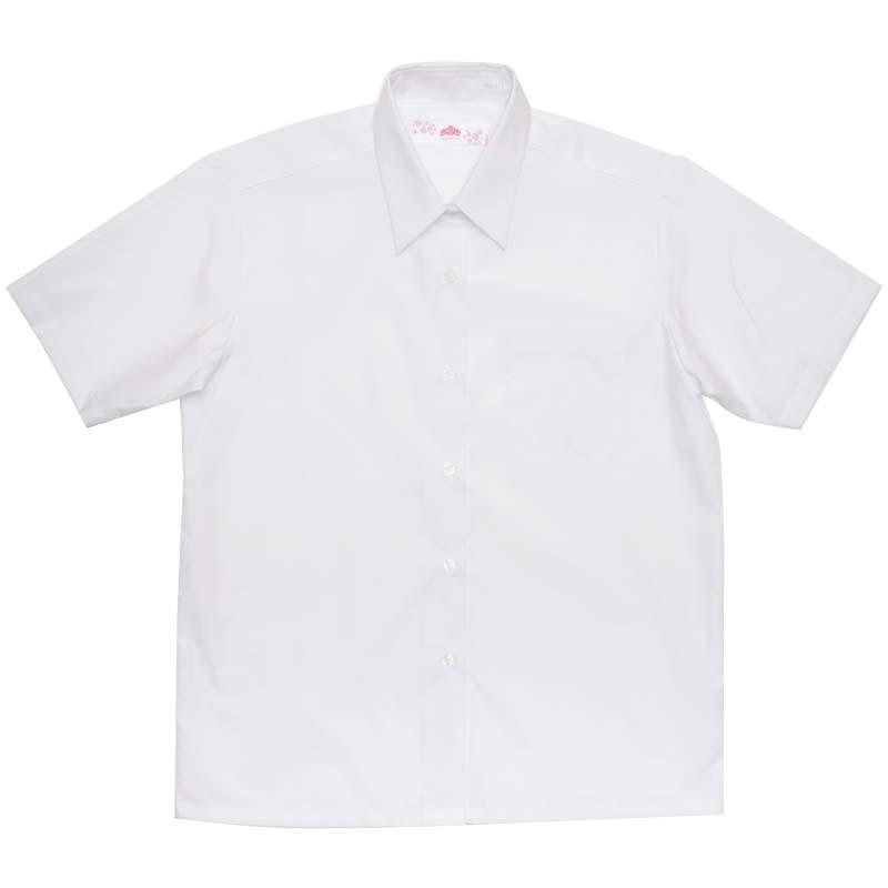 BE STELLA 角襟レギュラーシャツ(半袖) BS253 BS254