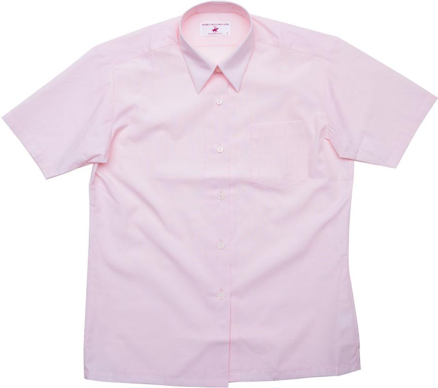 BHPC レギュラーシャツ半袖(きゅーてぃーピンク)ポケットあり CP293