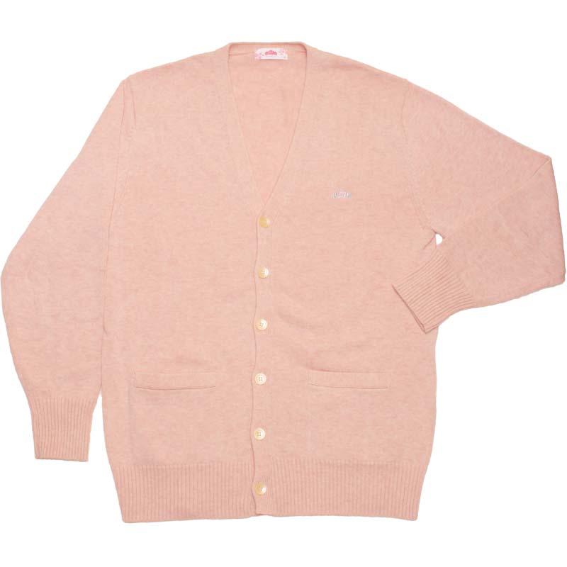 BE STELLA BK981-2 綿カーディガン いちごみるく(ピンク)