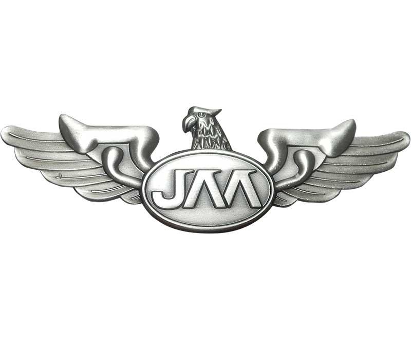 日本航空高校通信制課程ピンバッジ(JAA)