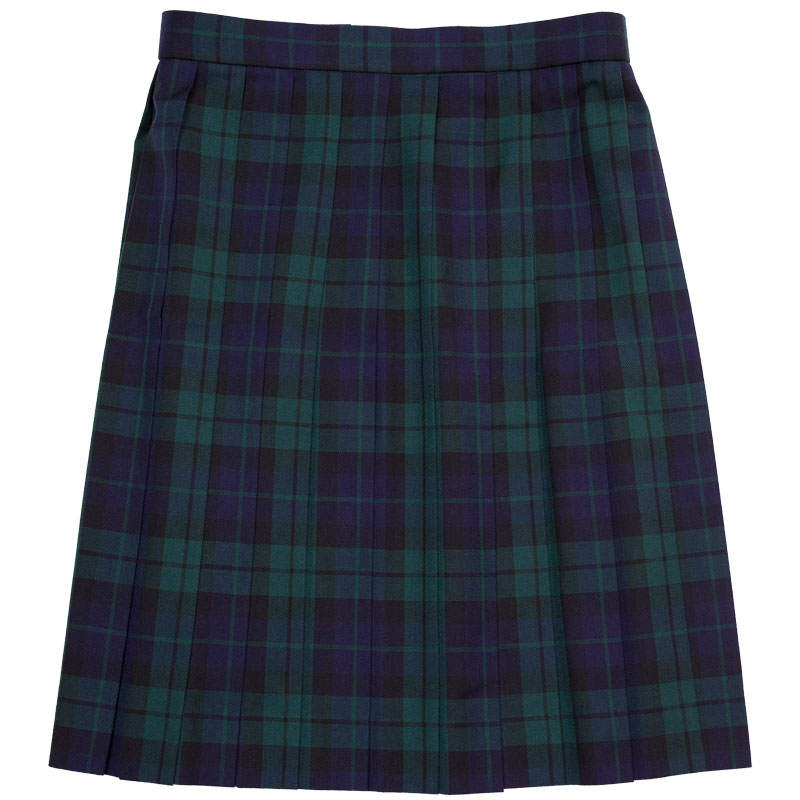 WKR431 図書館のひととき ~ブラックウォッチ緑×紺スリーシーズンスカート