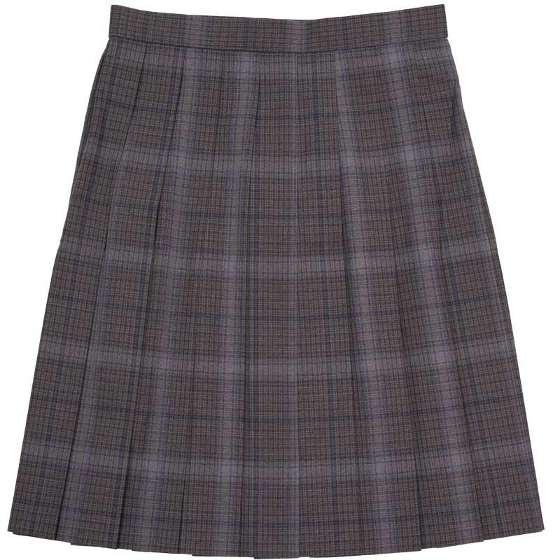 SKR414 夏の夜のとばり ~グレーグレンチェック紺ラインサマースカート