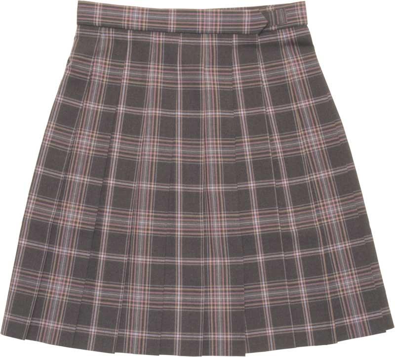 SKR202 恋はエマージェンシー ~グレーピンクオレンジチェックサマースカート