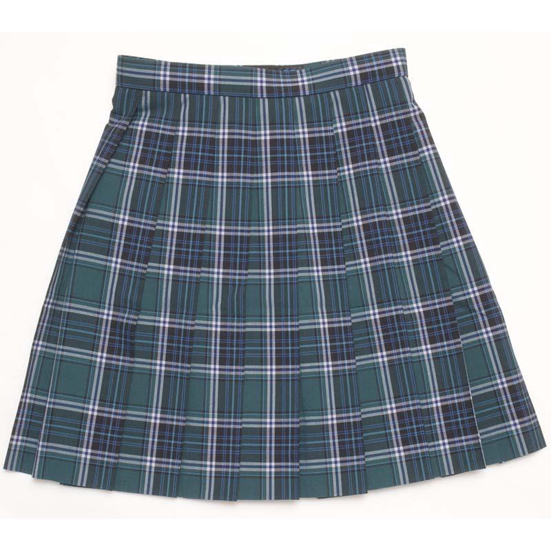 SKR130 お嬢さま、夏の装い ~グリーンチェックサマースカート