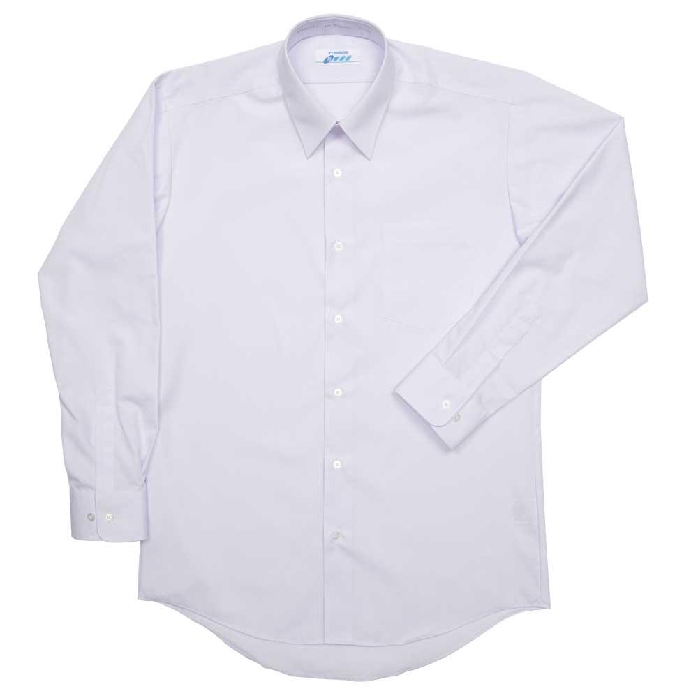 5A835-01 形態安定角襟レギュラーシャツ(男子長袖)(JAA)