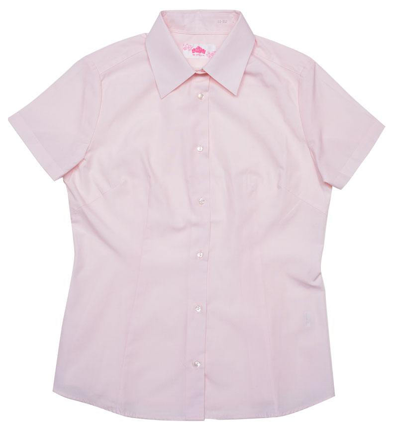BE STELLA スリムシャツ半袖ポケットなしピンク BS352(JAA)