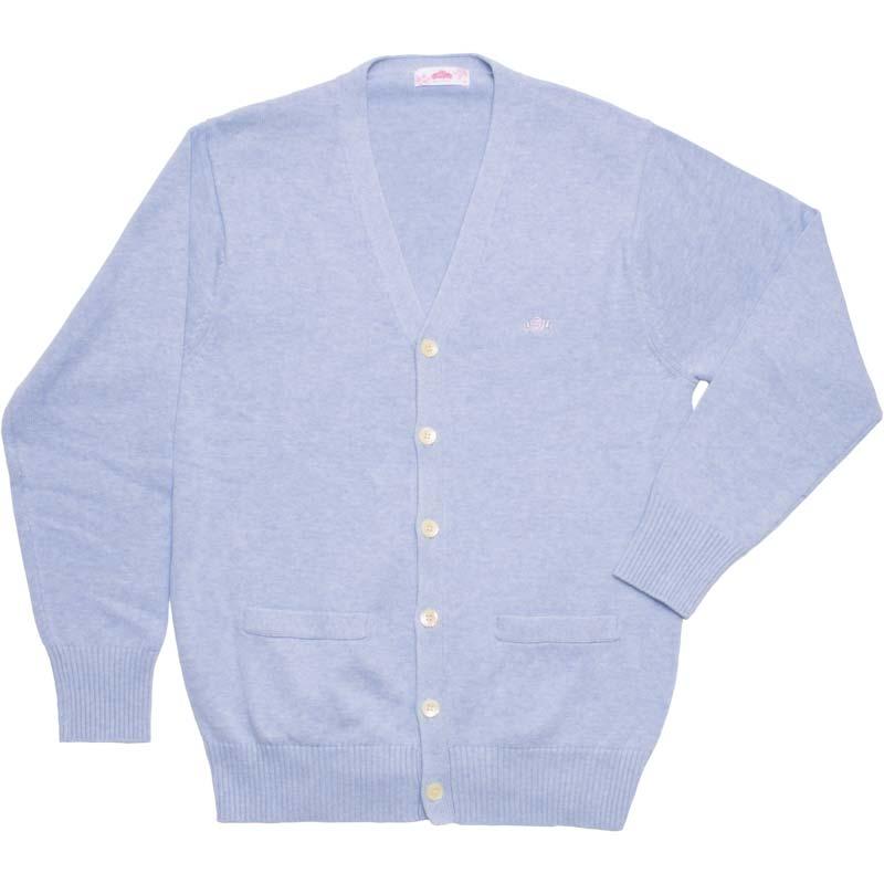BE STELLA BK981-1 綿カーディガン (ブルー)(JAA)